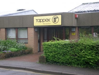 Tappex headquarters in Stratford-upon-Avon