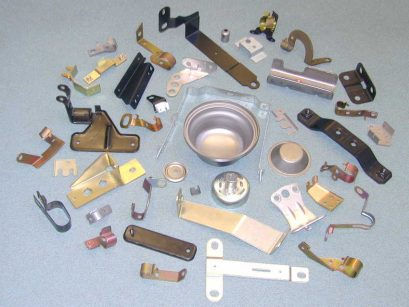 Pressed metals and components made by Pressavon