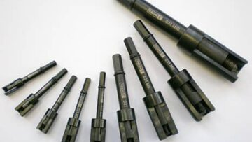 Tappex hand tools for threaded inserts