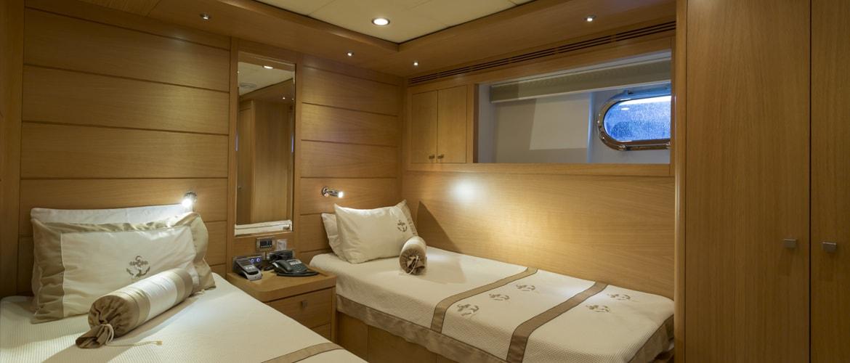 A ship's cabin
