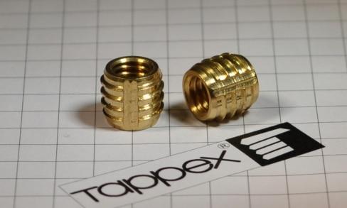 Tappex Brass Threaded Inserts