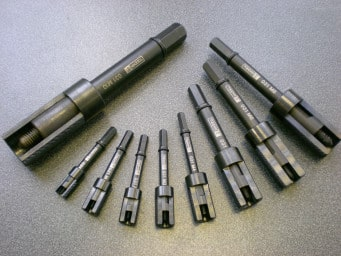 Tappex Range of hand tools - available in metric thread sizes of M2 to M10. Other thread forms are available upon request.
