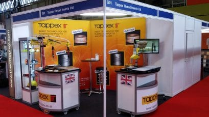 Tappex Thread Inserts exhibition stand